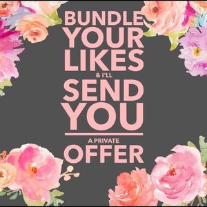 Bundle Your Likes & see how Low I will go 🌺